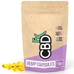 CBD Gel Capsule, 8 ct